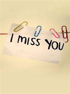 I Miss You Mobile Wallpaper