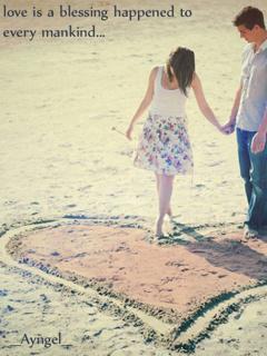 Lovers Heart Mobile Wallpaper