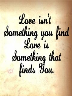 Just Find Love Mobile Wallpaper