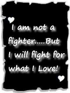 Fight For Love Mobile Wallpaper
