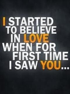 I Started Love Mobile Wallpaper