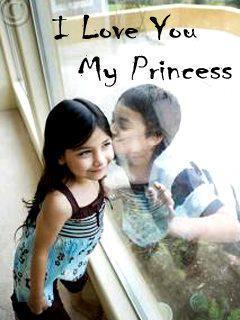 Love You My Princess Mobile Wallpaper