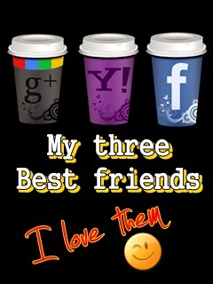 Three Best Friends Mobile Wallpaper