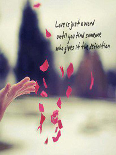 Love Defination Mobile Wallpaper