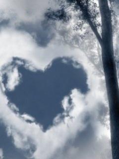 Heart Of The Sky Mobile Wallpaper