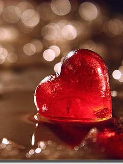 Red Heart Mobile Wallpaper