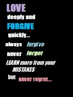 Forgive Quickly Mobile Wallpaper
