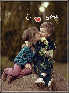 Cute Love Mobile Wallpaper