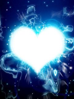 Heart Lights Mobile Wallpaper
