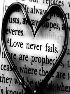 Love Never Fails Mobile Wallpaper
