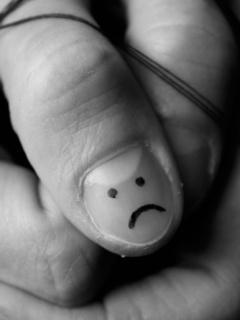 Sad Face Mobile Wallpaper