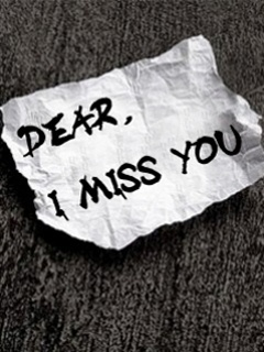 Dear Miss You Mobile Wallpaper