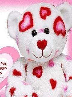 Love Teddy Mobile Wallpaper