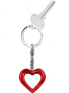 Heart Keychain Mobile Wallpaper