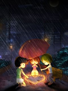 Cute Love Mobile Wallpaper