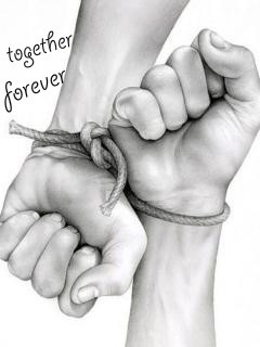 Together Forever Mobile Wallpaper