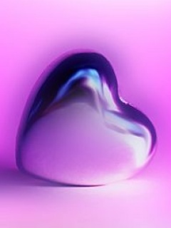 Purple Heart Mobile Wallpaper