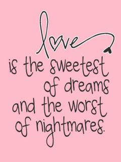 Love Is Sweetest Mobile Wallpaper