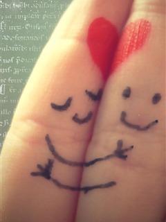 Love Togethers Mobile Wallpaper