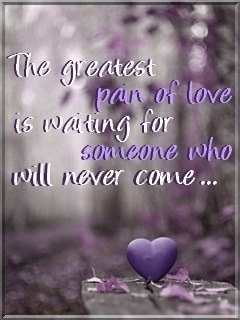 Pain Of Love Mobile Wallpaper