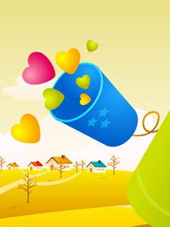 Happy Love Day Mobile Wallpaper