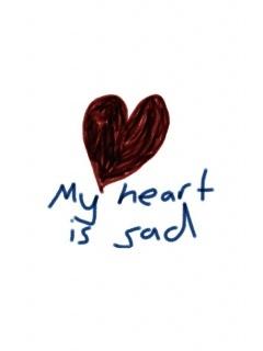 Sad Heart Mobile Wallpaper