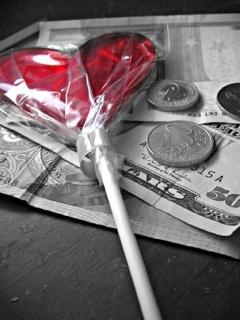 Love Money Mobile Wallpaper