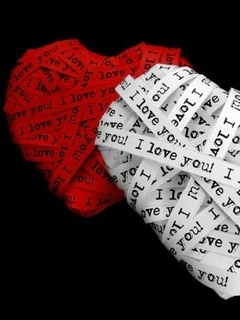 Hearts Love Mobile Wallpaper