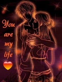 You Are My Life Mobile Wallpaper