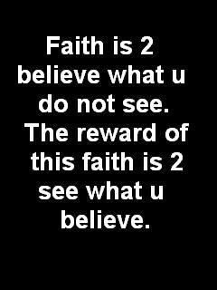 Faith 2 Believe  Mobile Wallpaper