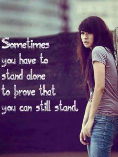 Stand Alone Mobile Wallpaper