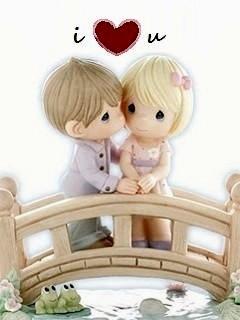 Kiss Love Mobile Wallpaper