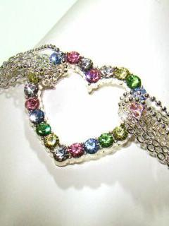 Heart Jewel Mobile Wallpaper