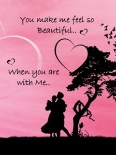 Love Couple Mobile Wallpaper