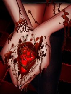 Heart In Hand Mobile Wallpaper