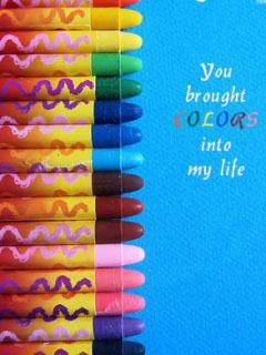 Love Colours Mobile Wallpaper