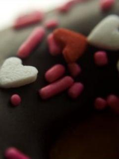 Nice Sweets Love Mobile Wallpaper
