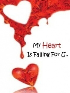 My Heart Falling 4 U Mobile Wallpaper