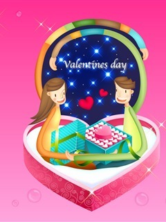 Happy Valentine's Day  Mobile Wallpaper