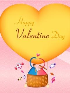 Heart Love Valentine Day Mobile Wallpaper