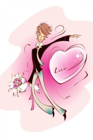 Valentine's Lover IPhone Wallpaper Mobile Wallpaper