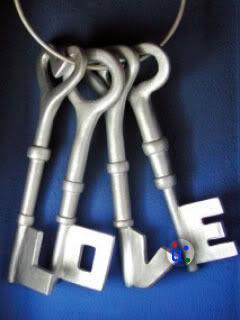 Love Keys Mobile Wallpaper