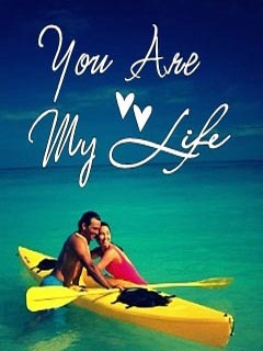 U Are My Life Mobile Wallpaper