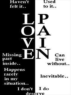 Love In Pain Mobile Wallpaper