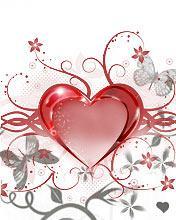 Heart In Love Mobile Wallpaper