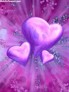 Hearts1 Mobile Wallpaper