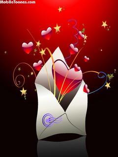 Love Letter Mobile Wallpaper