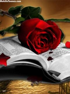 Love Book Mobile Wallpaper
