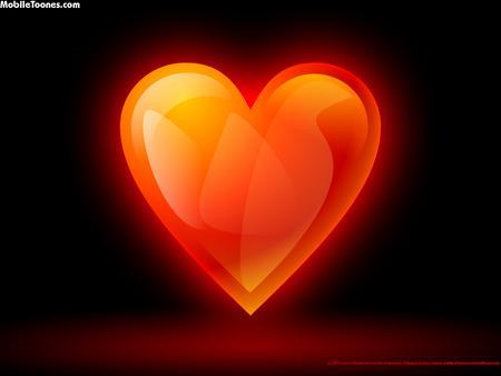 Red Love Mobile Wallpaper