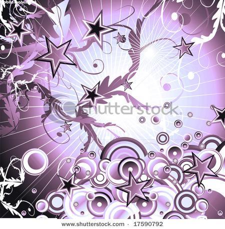 Purple Buttfly Mobile Wallpaper